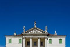 Detail of the Villa Cordellina Lombardi in Montecchio Maggiore,. Veneto, Italy royalty free stock image