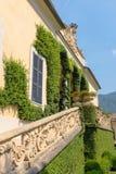 Detail of Villa del Balbianello royalty free stock photos