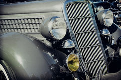 Detail of Vintage Car Royalty Free Stock Photos