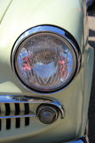 Detail of a vintage car front Stock Image