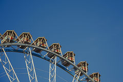Detail of Vintage ferris wheel Stock Photography