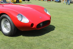Detail vintage Maserati Tipo 200S Royalty Free Stock Images