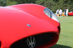 Detail vintage Maserati Tipo 200S Royalty Free Stock Photo
