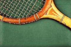 Detail of vintage racket Royalty Free Stock Photos