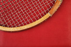 Detail of vintage racket Royalty Free Stock Photo