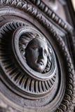 Detail of vintage wooden door Royalty Free Stock Photos