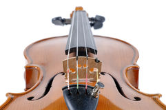 Detail of violin as music instrument Stock Images