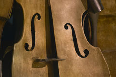 Detail of a violin Royalty Free Stock Images