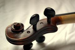 Detail of violin royalty free stock images