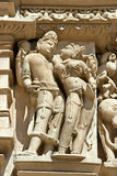 Detail of Vishnavath temple, Khajuraho Stock Image