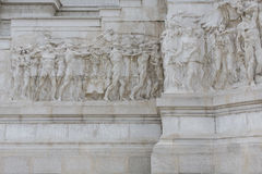 Detail of the Vittoriano in Rome Royalty Free Stock Images