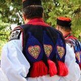 Detail Vlčnov folk costumes Royalty Free Stock Image