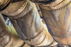 Detail at Volklingen Ironworks in Saar Stock Photos
