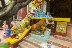 Detail vom buddhistischen Tempel stockfoto