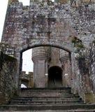 Detail vom des St Michael Berg Normandie, Frankreich Stockfotos