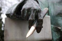 Detail vom Monument anonym stockbild