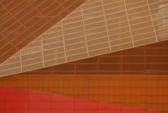 Detail von Agoratheater Stockfotos