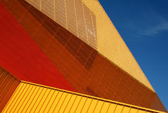 Detail von Agoratheater Lizenzfreie Stockfotos