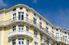 Detail von Altbauten von der Mitte von Sofia Stockbilder
