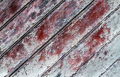 Detail von alten hölzernen Scheunentüren stockbilder