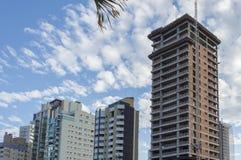 Detail von brasilianischen Wolkenkratzern Stockbild