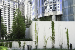 Detail von Chicago-Architektur Stockbild