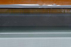 Detail von Drähten Stockfoto