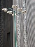 Detail von Fühlern einer sechs Lampe lizenzfreie stockfotografie