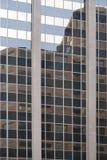 Detail von futuristischen Wolkenkratzern in Denver in USA Stockbild