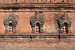 Detail von Nagayon-Tempel Bagan myanmar Lizenzfreie Stockbilder