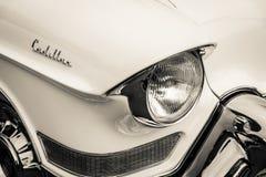 Detail von Oldtimer Cadillac-Reihe 62 (fünfte Generation) Lizenzfreie Stockfotografie