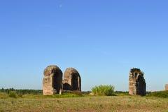 Detail von Ruinen Stockbild