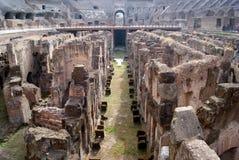 Detail von Ruinen in Colisseum Lizenzfreie Stockfotos