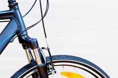 Detail von Tasterzirkel-Bremsen stockbild