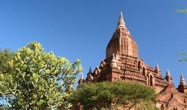Detail von Tempel Sein Nyet Ama Bagan Mandalay-Region myanmar Stockfotografie