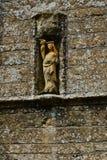 Detail von whitchurch canonicorum Kirche, England, Großbritannien Lizenzfreies Stockfoto