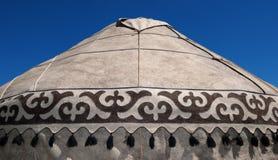 Detail von yurt Stockbild