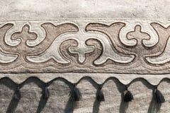 Detail von yurt lizenzfreies stockfoto