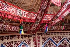Detail von yurt stockfoto