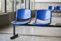 Detail of a waiting room royalty free stock photo