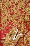 Detail of the wall at Phrathat Lampang Luang Stock Images