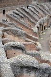 Inside the ruins of the Colosseum Rome, Lazio, Italy stock photos