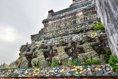Detail. Wat Arun. Bangkok. Thailand Royalty Free Stock Image