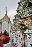 Detail. Wat Arun. Bangkok. Thailand Stock Photography