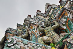 Detail. Wat Arun. Bangkok. Thailand Stock Photo