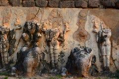 Detail. Wat Chedi Si Hong. Historical Park. Sukhothai. Thailand Stock Photos