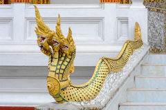 Detail of Wat Nong temple in Luang Prabang Stock Photography