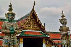 detail Wat Phra Keo Bangkok Thailand Groot Paleis bangkok thailand Royalty-vrije Stock Foto's