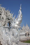 Detail at Wat Rong Khun stock photos