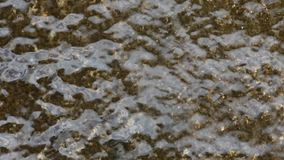 Detail of water falling. 06 stock video footage